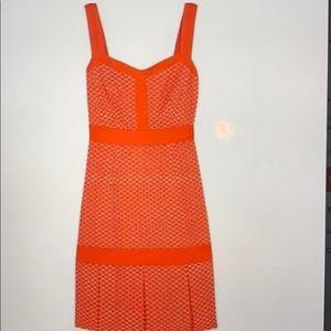 Tory Burch Berdine Dress in Habanero Pepper NWOT